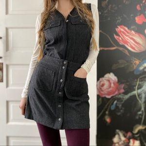 Vintage Wool Gap Skirt & Vest